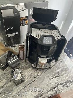 Krups Barista Ea9010 Espresso Bean To Cup Coffee Machine / Silver