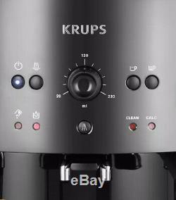 Krups EA810840 Bean to Cup Coffee Machine Black