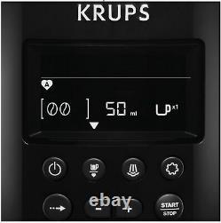 Krups Espresseria EA8150 Auto Bean to Cup Coffee Machine, Black Elegant