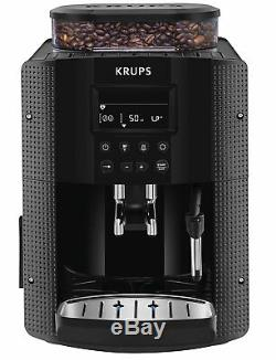Krups Espresseria EA8150 Automatic Bean to Cup Coffee Machine, Black