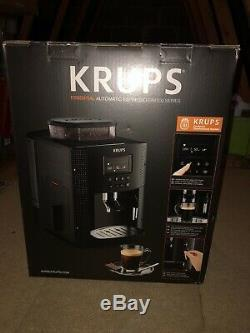 Krups Essential EA8150 Automatic Bean to Cup Coffee Machine, Black