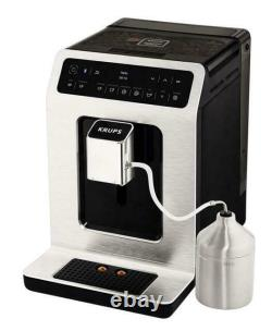 Krups Evidence Bean to Cup Smart Enabled Silver Coffee Machine (EA893D40)