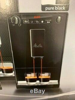 MELITTA SOLO PURE BLACK BEAN TO CUP COFFEE MACHINE Model E950-222 BARGAIN