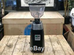 Mazzer Kony Automatic Black Espresso Coffee Grinder Restaurant Barista Beans Cup