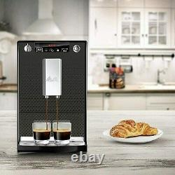 Melitta 6708696 Caffeo Solo Bean To Cup Coffee Machine Black 6708696