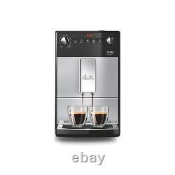 Melitta 6766604 676604 Purista Bean To Cup Coffee Machine Silver 6766604