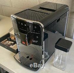 Melitta Barista T Smart F83/0-101 Bean To Cup Coffee Machine, Black/Silver E1