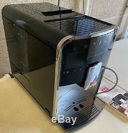 Melitta Barista T Smart F83/0-101 Bean To Cup Coffee Machine, Black/Silver G