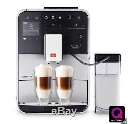 Melitta Barista T Smart F83/0-101 Bean To Cup Coffee Machine, Black/Silver NEW