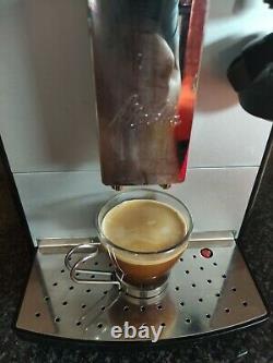 Melitta Caffeo Lattea Full Automatic Coffee Machine Silver/Black bean to cup