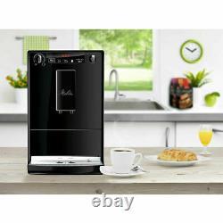 Melitta Caffeo Solo Bean to Cup Coffee Machine Pure Black E950-222 Brand New