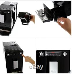 Melitta Caffeo Solo E950-222 Automatic Bean To Cup Coffee Machine, Pure Black N