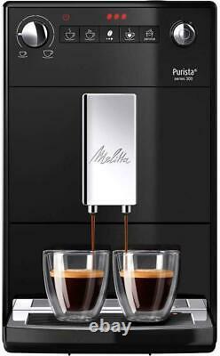 Melitta Purista F230-102 Automatic Bean to Cup Espresso Coffee Machine Black