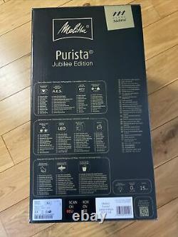 Melitta Purista F230-103 Bean to Cup Espresso Coffee Machine Jubilee EDITION NEW