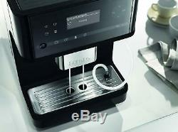 Miele CM6150 Bean-to-Cup Coffee Machine, 1.5 W, Obsidian Black