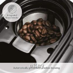 Morphy Richards 162100 Evoke Grind and Brew Bean to Cup Coffee Machine Bran
