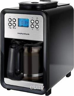 Morphy Richards Grind & Brew Bean To Cup Filter Coffee Machine