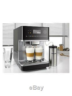NEW Miele CM6310 Bean to Cup Stainless Steel Coffee Machine Black