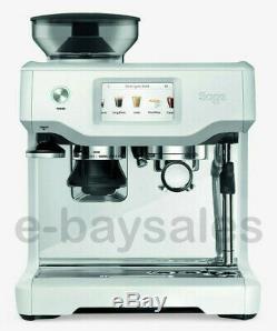 New £1000 Sage Heston Blumenthal Barista Touch Bean To Cup Coffee Machine White
