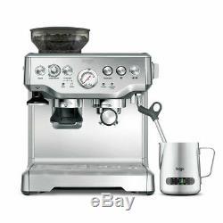 Professional Sage Barista Express Bean to Cup Coffee/Espresso Machine/Milk Jug