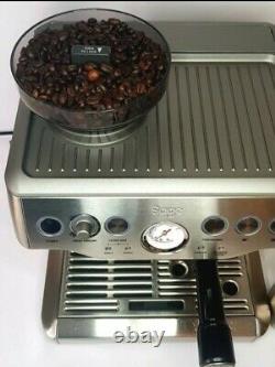 SAGE Barista Express Bean to Cup Coffee Machine -BES875UK Silver