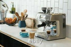 SAGE SES880BSS Bean to Cup Coffee Automatic Espresso Machine Brand New