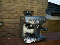 SAGE The Barista Express 1850W Espresso Coffee Machine Cups, Beans