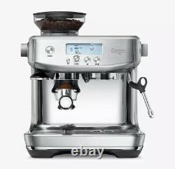 SAGE The Barista Pro SES878BSS Bean-to-Cup Coffee Machine, Stainless Steel
