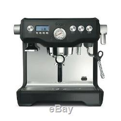 SAGE The Dual Boiler Bean To Cup Coffee Machine Black Truffle