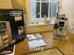 SEE VIDEO DeLonghi Ecam 23.460. S Bean to Cup Coffee CURRY'S WARRANTY MAY 22