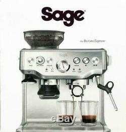 Sage Barista Express Bean-To-Cup Coffee Machine Milk Jug, Stainless Steel Cup