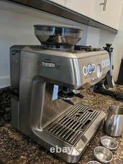 Sage Barista Express Bean To Cup Espresso Coffee Machine (Grade B)