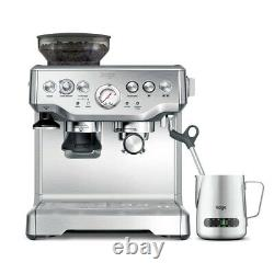 Sage Barista Express Bean to Cup Coffee Machine Including Milk Jug BES875UK