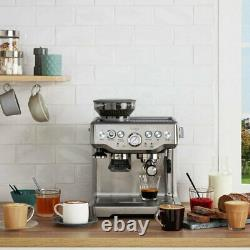 Sage Barista Express Bean to Cup Coffee Machine With Milk Jug BES875UK, Silver