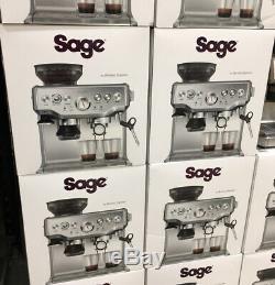 Sage Barista Express Bean to Cup Espresso Coffee Machine, Stainless Steel