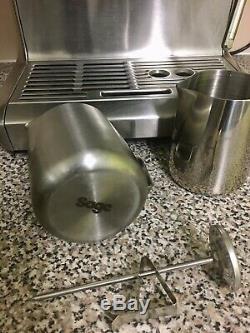 Sage Barista Express by Heston Blumenthal bean to cup espresso coffee machine