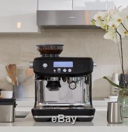Sage Barista Pro Bean-to-Cup Coffee Machine with Milk Jug, Truffle Black AN