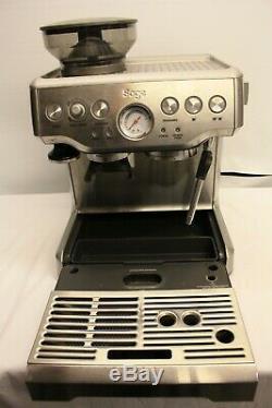 Sage Bes870uk Barista Express Espresso Coffee Machine Bean To Cup Silver