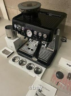 Sage The Barista Express SES875BK Bean to Cup Coffee Machine, Black E