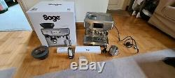 Sage The Barista Touch Bean Cup Coffee Machine Stainless Steel And Chrome