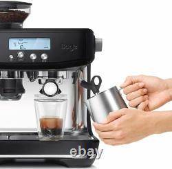 Sage the Barista Pro Bean to Cup Espresso Coffee Machine Black Truffle 2YR WRNTY