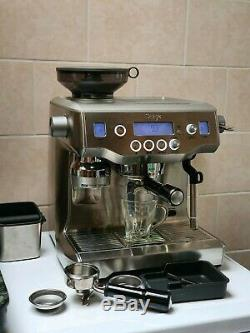 Sage the Oracle Bean-to-Cup 2400W Coffee Machine Silver (BES980UK)