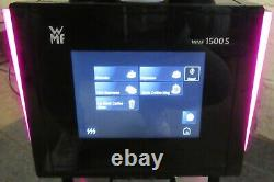 WMF 1500 S Bean To Cup Commercial Coffee Machine 2 Grinders Fully Automatic+Milk